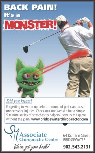 Back Pain is a Monster_Golfer