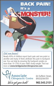 Back Pain is a Monster_Kid Backpack